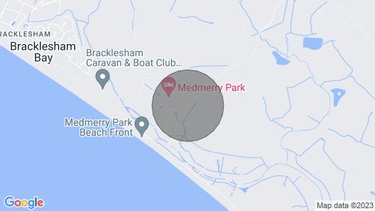 22E Medmerry Park 2 Bedroom Chalet Near Coast Map