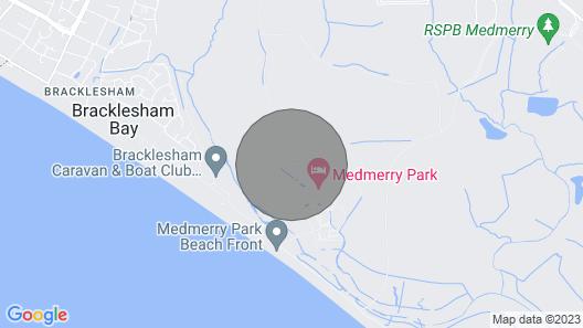 7C Medmerry Park 2 Bedroom Chalet Map