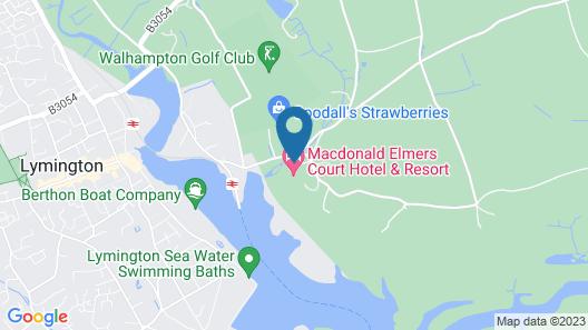Macdonald Elmers Court Resort Map