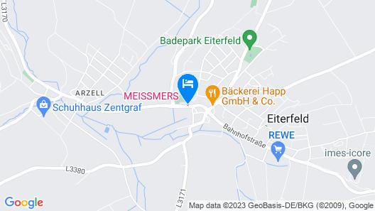 MEISSMERS HOTEL Map