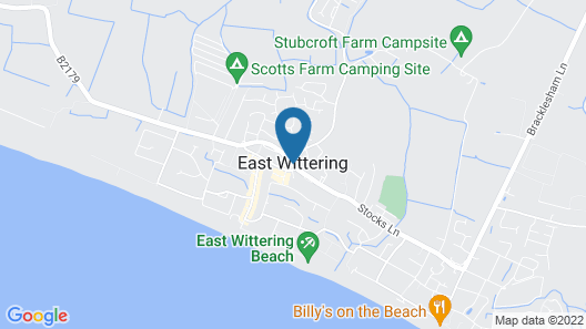East Wittering Map