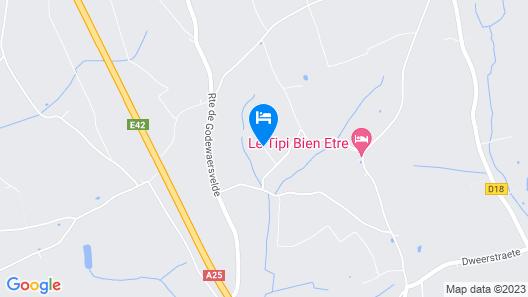 Longère Flamande au Calme Map