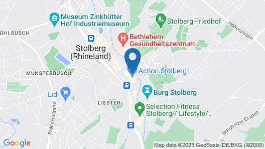 CityHotel Stolberg Map