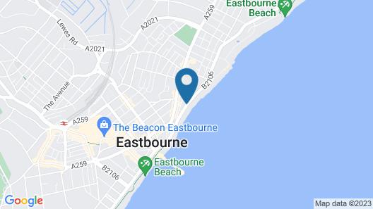 The Glastonbury Hotel Map