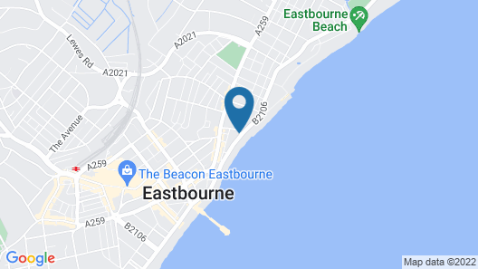 East Beach Hotel Map