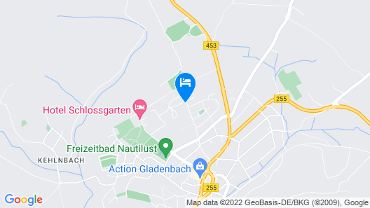 zu Jeddelohs Rosengarten Hotel & Bungalows Map
