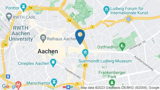Domapartments Aachen City Map