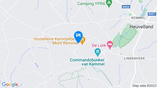 Hostellerie Kemmelberg Map
