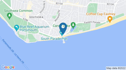 Best Western Royal Beach Hotel Map
