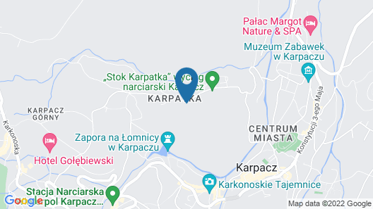 Apartamenty Sun & Snow Karpatia Map