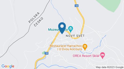 Apartment Novy Svet in Harrachov - 8 Persons, 3 Bedrooms Map