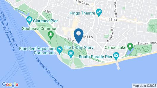 Q8 Boutique Hotel Map