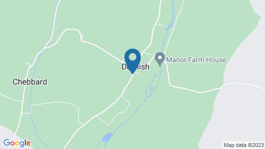The Oak at Dewlish Map