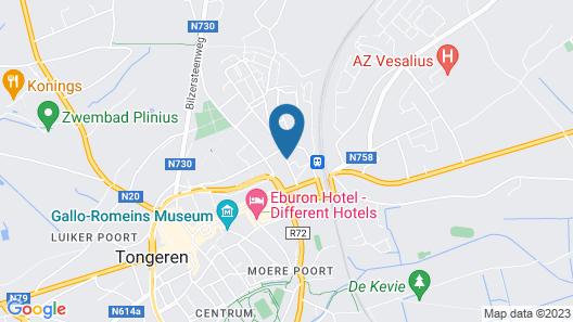 't Huys van Steyns Map
