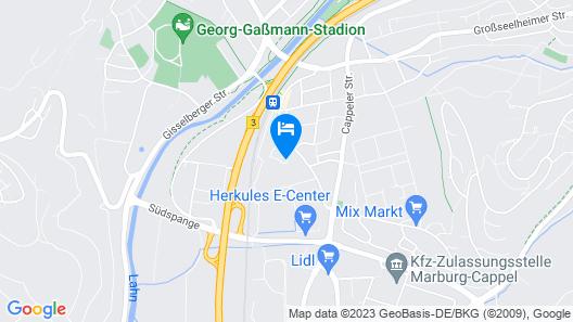 Hotel im Kornspeicher Map