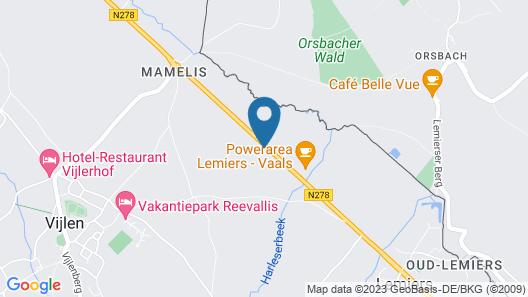 Hotel Drielanden Map