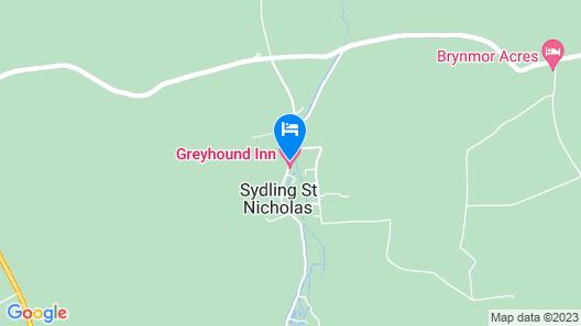 The Greyhound Inn Map