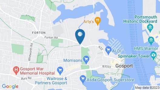 Spring Garden Holiday Apartments Map