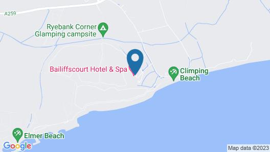 Bailiffscourt Hotel & Spa Map