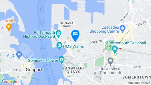 The Royal Maritime Club Map