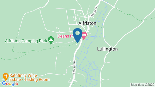Alfriston Woodland Cabins - Badgers Rest Map