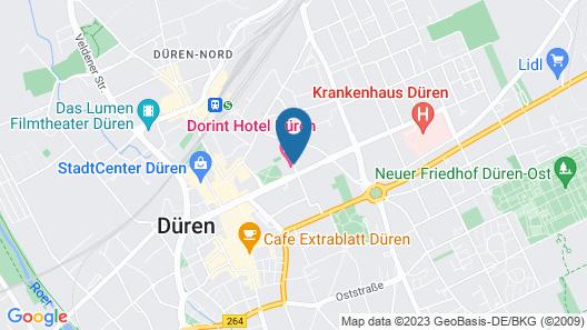 Dorint Hotel Düren Map