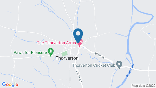 Thorverton Arms Map