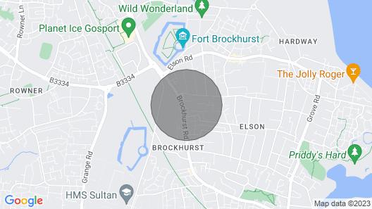 Brockhurst Lodge - Beautiful Short-stay Accommodation Map