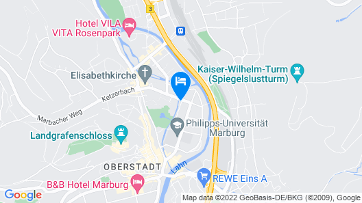 Hotel Haus Müller Map
