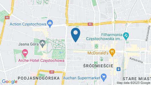 Apartament Modern Map