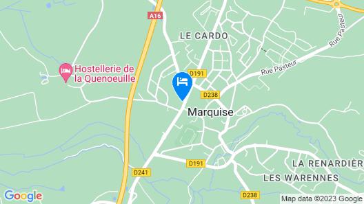 Gite les hortensias Map