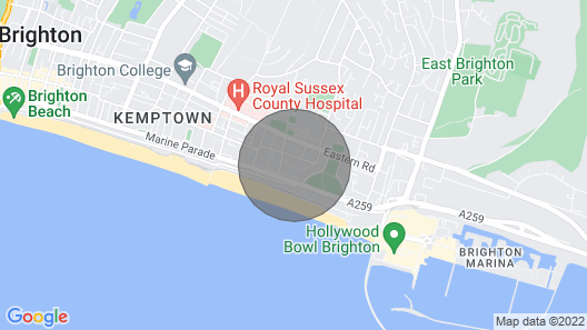 Lovely Brighton Mews House Map