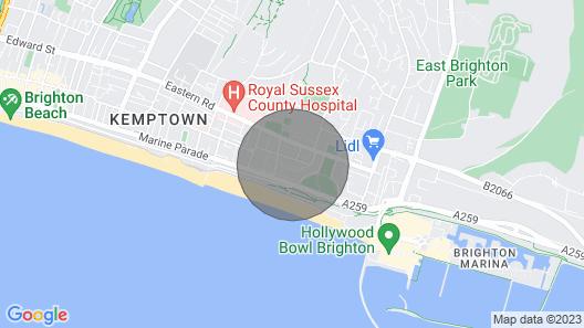 Kemp Town Mews Map