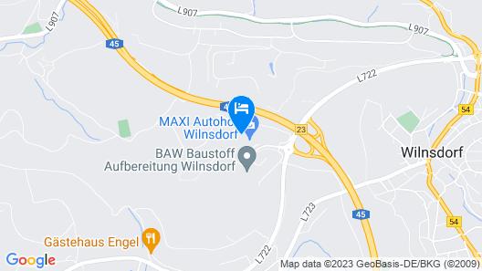 Qualitel Hotel Wilnsdorf Map