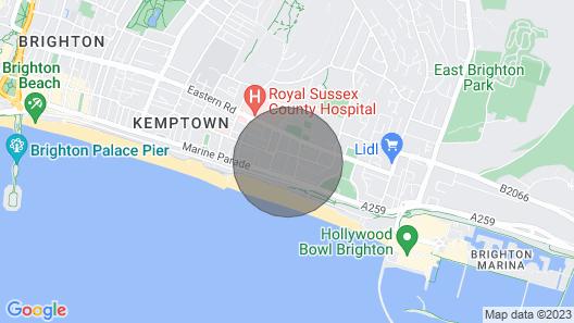 Chesham Place Map