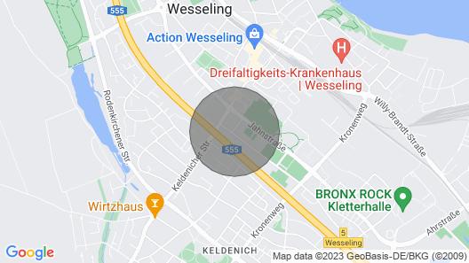 W02 Schönes 3 Zimmer Ferienhaus mit Garten in Zentraler Lage Map