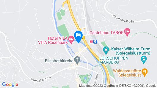 VILA VITA Rosenpark Map