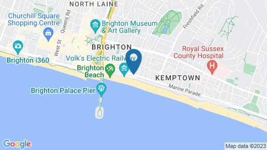 Drakes of Brighton Map