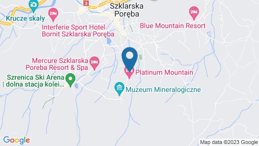 Platinum Mountain Hotel & SPA Map