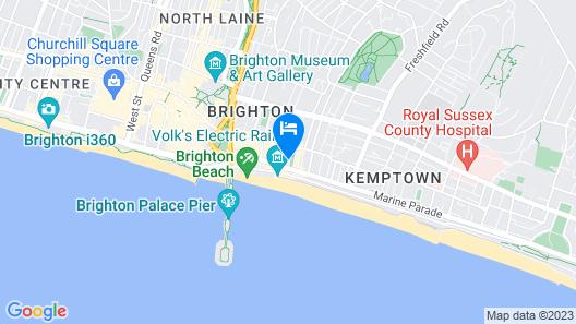 Hamptons Brighton Map