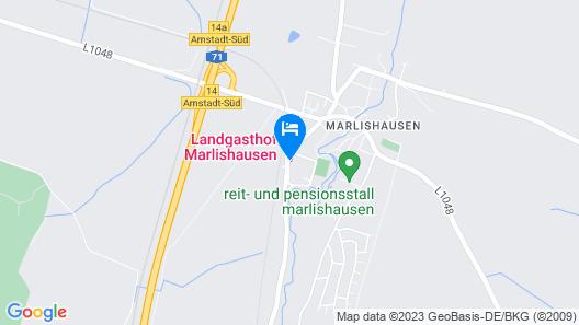 Landgasthof Marlishausen Map