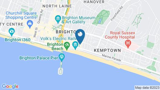 Sea Spray Map