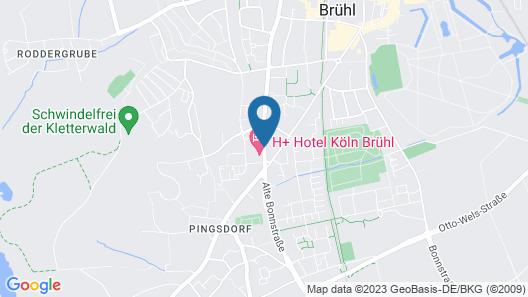 H+ Hotel Köln Brühl Map