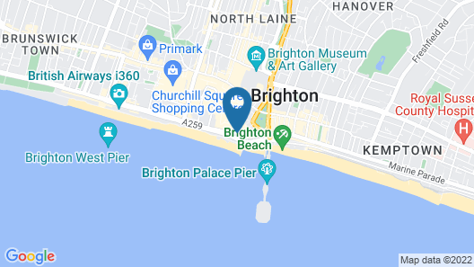 Brighton Beach Apartments Map