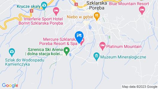 Villa Alpina Map