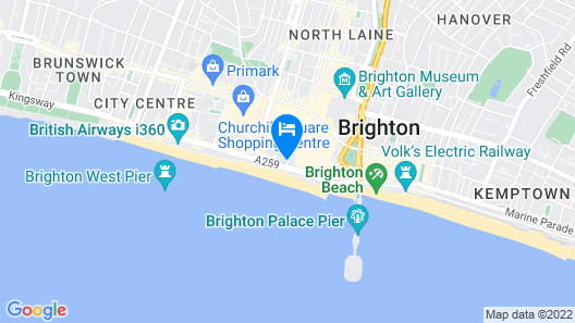 Hotel du Vin Brighton Map
