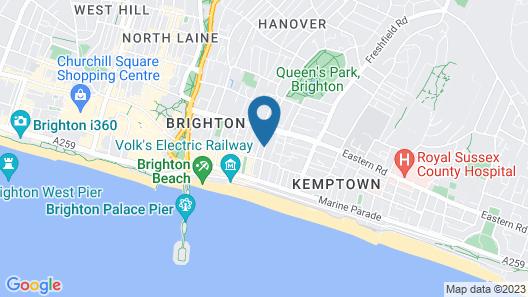 Sea Breeze Brighton Map