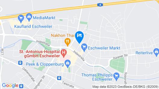 Best Western Hotel De Ville Map