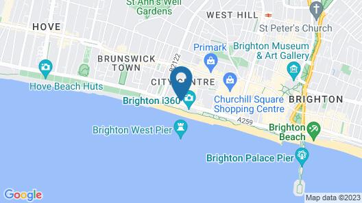Selina Brighton Map