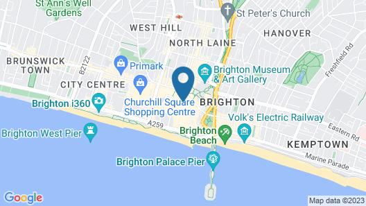 Brighton Square Apartments Map